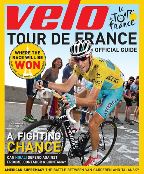VeloNews Cover - 5/15/2015