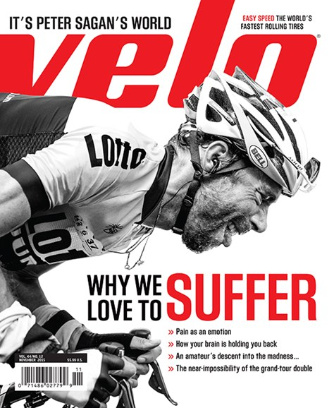 VeloNews Cover - 11/1/2015
