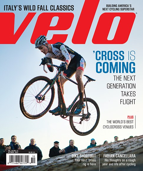 VeloNews Cover - 10/1/2015