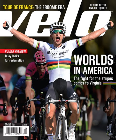 VeloNews Cover - 9/1/2015