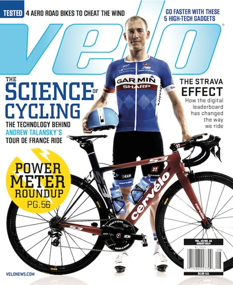 VeloNews Cover - 8/1/2014