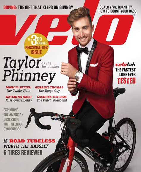 VeloNews Cover - 2/1/2014