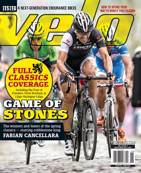 VeloNews Cover - 6/1/2014