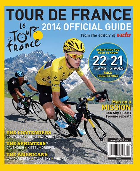 VeloNews Cover - 6/15/2014