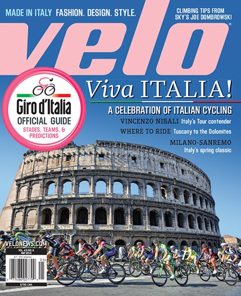 VeloNews Cover - 5/1/2014