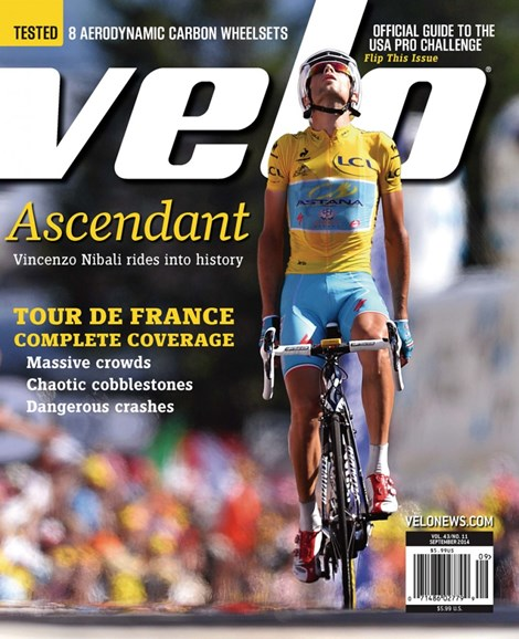 VeloNews Cover - 9/1/2014