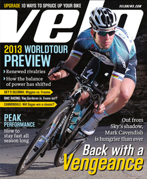 VeloNews Cover - 4/1/2013