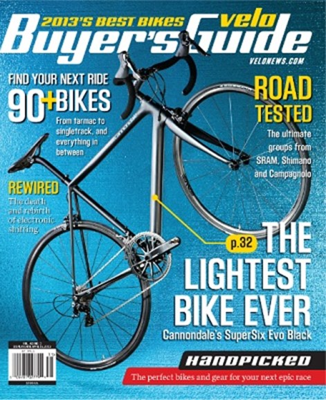 VeloNews Cover - 2/15/2013