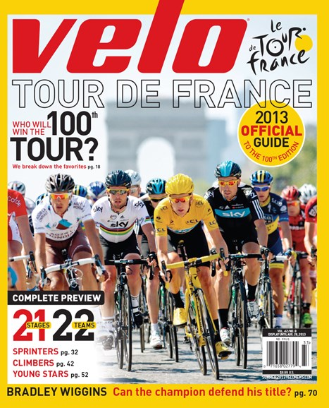 VeloNews Cover - 6/15/2013