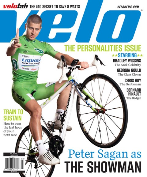 VeloNews Cover - 3/1/2013