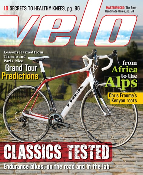 VeloNews Cover - 5/1/2013