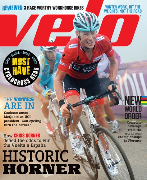 VeloNews Cover - 11/1/2013