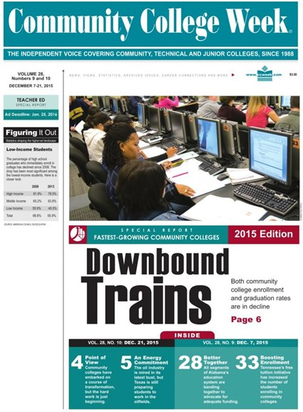 Community College Week Cover - 12/21/2015