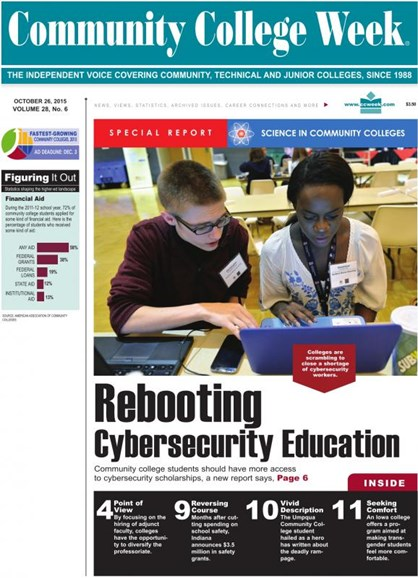 Community College Week Cover - 10/26/2015