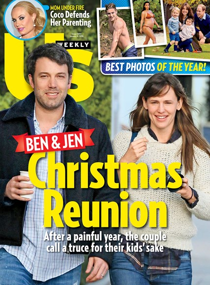 Us Weekly Cover - 1/4/2016