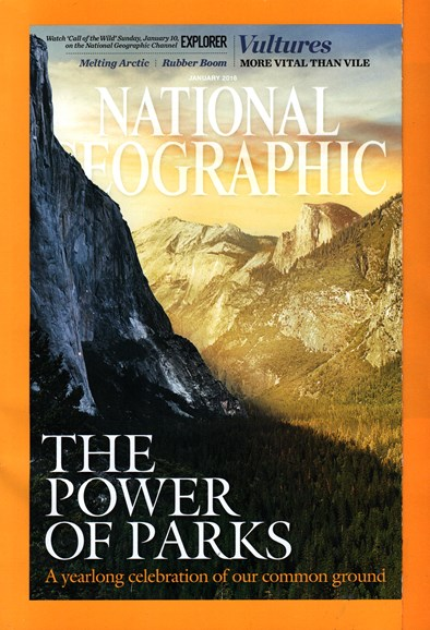 National Geographic Cover - 1/1/2016