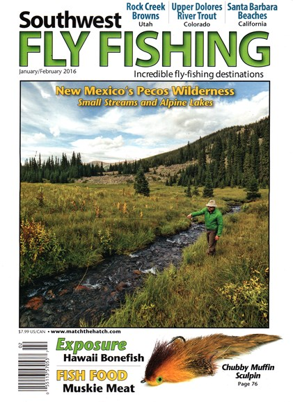 Southwest Fly Fishing Cover - 1/1/2016