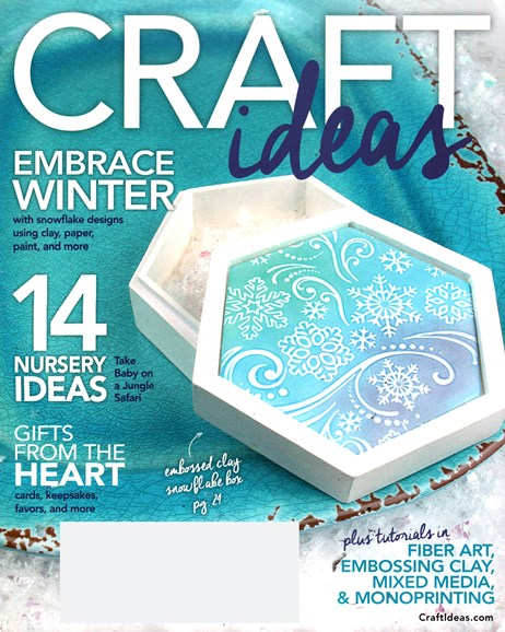 Craft Ideas Cover - 1/1/2016