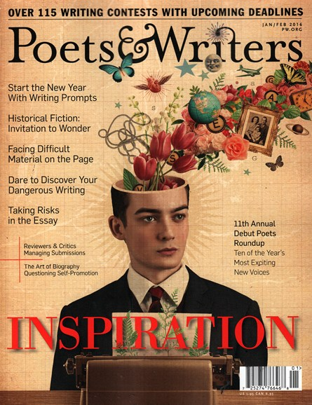 Poets & Writers Cover - 1/1/2016