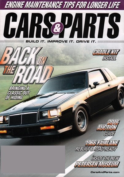 Cars & parts Cover - 1/1/2016
