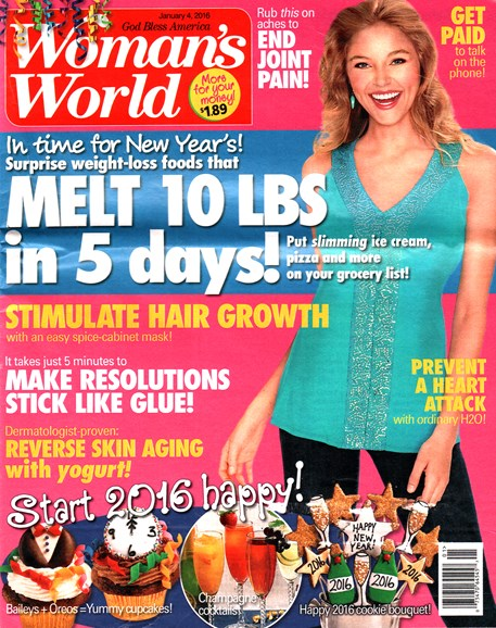 Woman's World Cover - 1/4/2016
