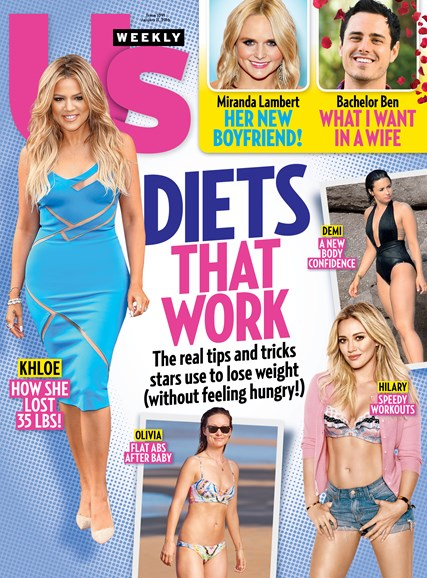 Us Weekly Cover - 1/11/2016