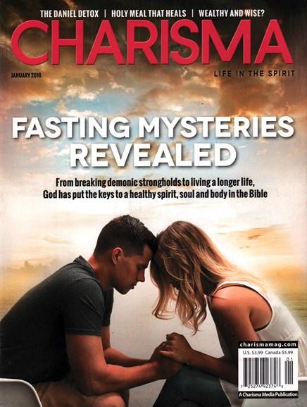 Charisma Cover - 1/1/2016