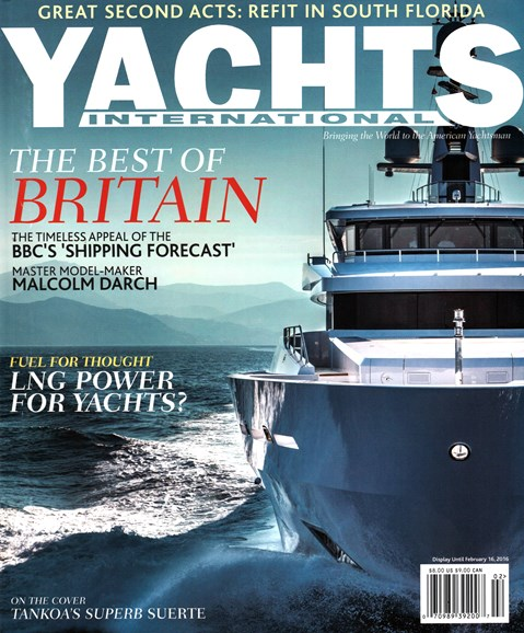 Yachts International Cover - 1/1/2016