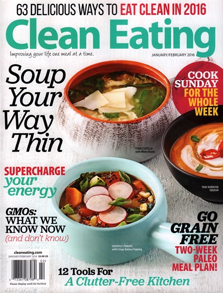 Clean Eating Cover - 1/1/2016