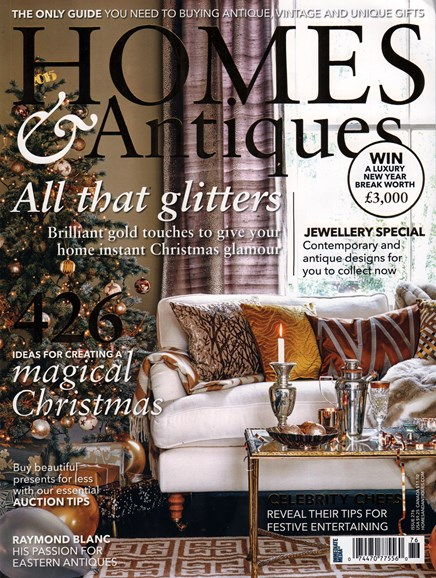 Homes & Antiques Cover - 12/1/2015