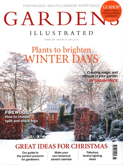 Gardens Illustrated Cover - 12/1/2015