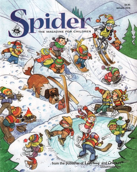 Spider Cover - 1/1/2016