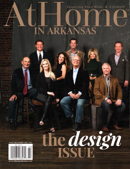 At Home In Arkansas Cover - 1/1/2016