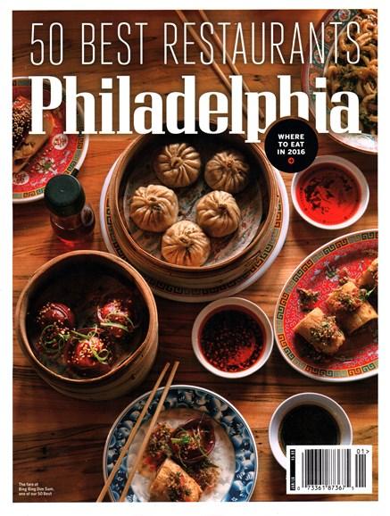 Philadelphia Magazine Cover - 1/1/2016