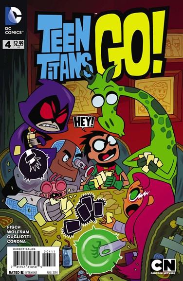 Teen Titans Go! Cover - 8/1/2014