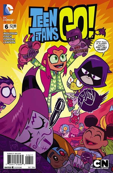 Teen Titans Go! Cover - 12/1/2014