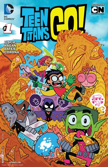 Teen Titans Go! Cover - 2/1/2014