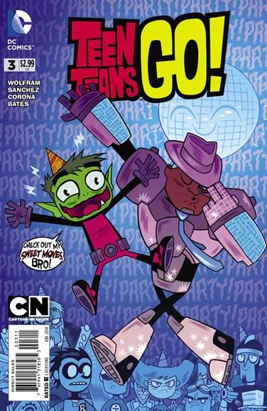 Teen Titans Go! Cover - 6/1/2014