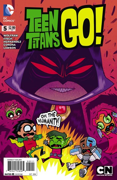 Teen Titans Go! Cover - 10/1/2014