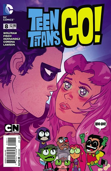 Teen Titans Go! Cover - 4/1/2015