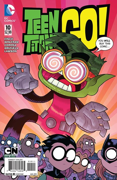 Teen Titans Go! Cover - 8/1/2015