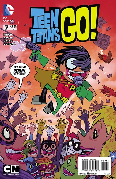 Teen Titans Go! Cover - 2/1/2015