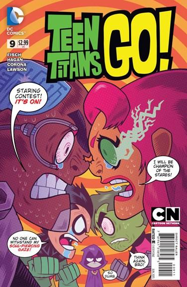 Teen Titans Go! Cover - 6/1/2015