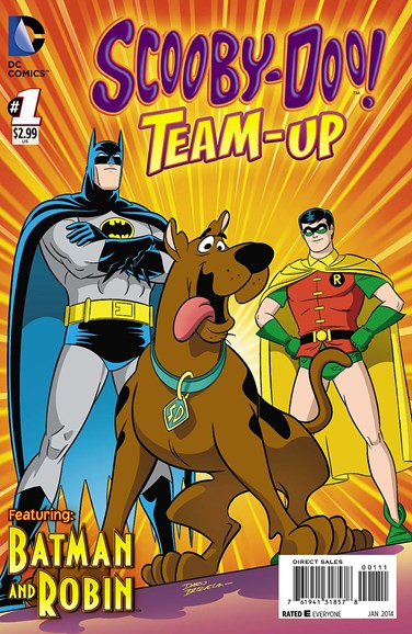 Scooby- Doo Team Up Cover - 1/1/2014