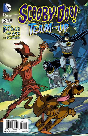 Scooby- Doo Team Up Cover - 3/1/2014