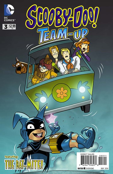 Scooby- Doo Team Up Cover - 5/1/2014