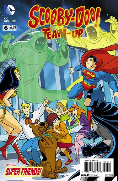 Scooby- Doo Team Up Cover - 11/1/2014