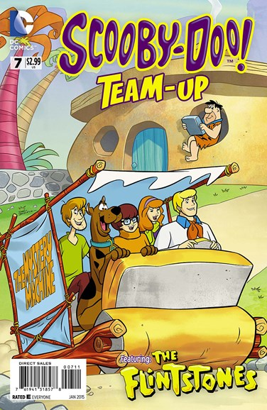 Scooby- Doo Team Up Cover - 1/1/2015