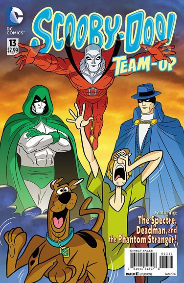 Scooby- Doo Team Up Cover - 1/1/2016