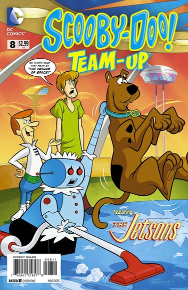 Scooby- Doo Team Up Cover - 3/1/2015